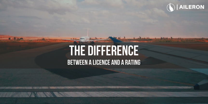 The difference between a Licence and a Rating
