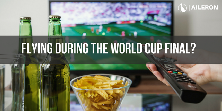 Which airlines are showing world cup final?