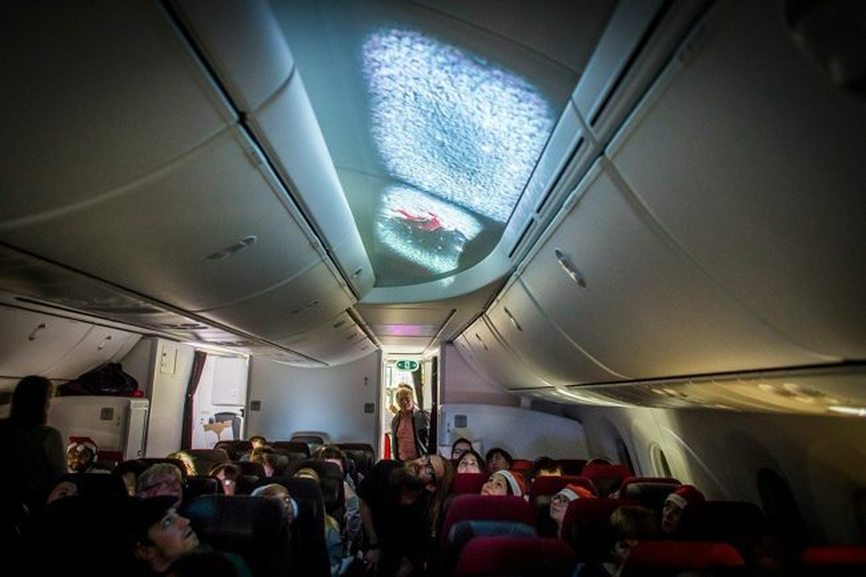 The Best Airline Christmas Stunts